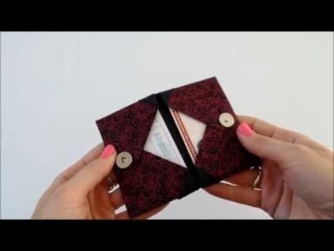 Origami Porta Cartão - Card Case - YouTube