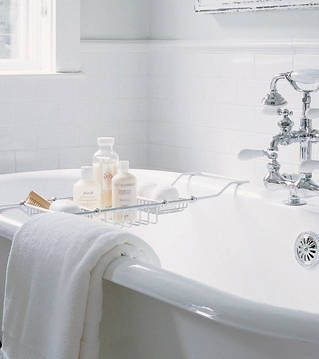 Best bathroom touch-ups. Simple and affordable ways to upgrade your bath design. #CILserenity