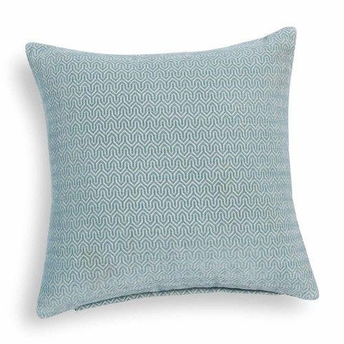 Coussin bleu 45 x 45 cm JOBS