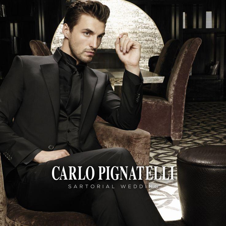 Carlo Pignatelli Sartorial Wedding 2015 collection #carlopignatelli #sartorial #sposo #groom #suit #wedding #matrimonio