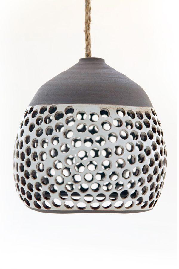 iluminación de cerámica, artesanía, diseño, diseño del blog squish
