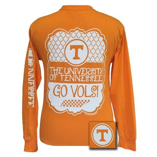 Details: Check out our newest design for Tennessee fans! It features the Tennessee Logo surrounded by an ornate background and decorative frame with printing do