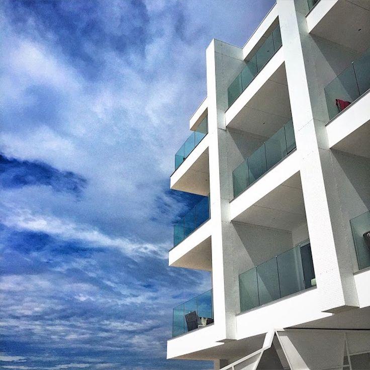 Splendid resort architecture at Nikki Beach Portoheli