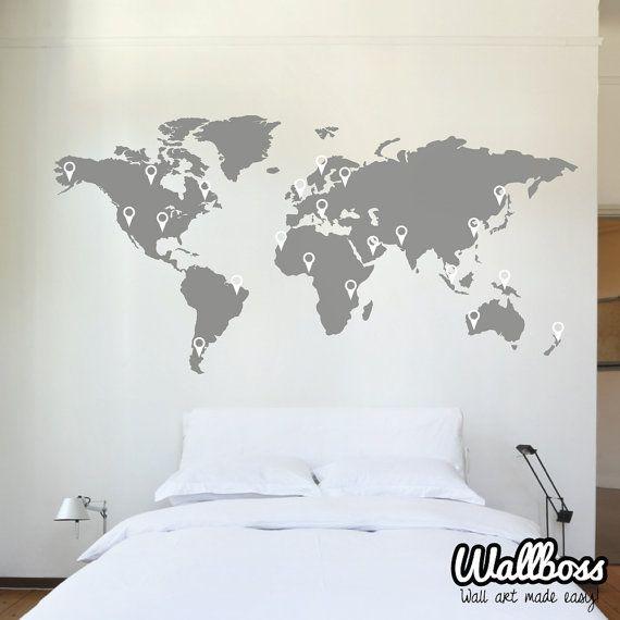 1000 id es sur le th me chambre de plate forme sur pinterest lits plateforme ensembles de for Pochoir chambre garcon