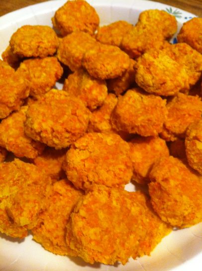 Paleo Dog Biscuits  Carrot n Coconut