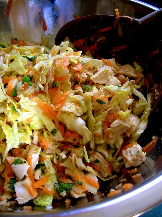 Chicken and Mint Salad