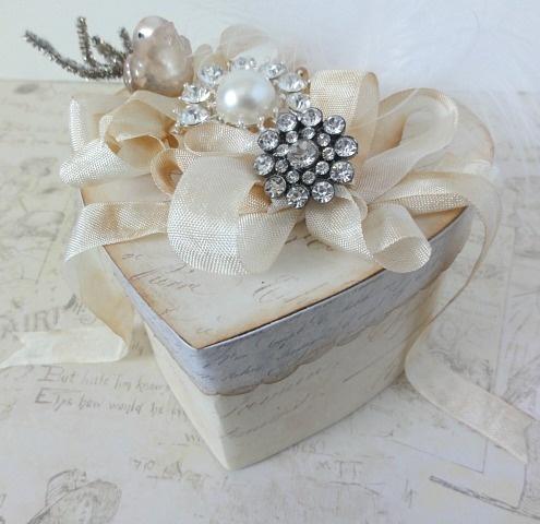 could be a cute card box....DIY: Wedding Gift Box