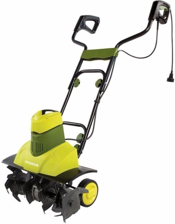 9 Amp Electric Tiller and Cultivator Outdoor Patio Garden Power Tool New #cultivator