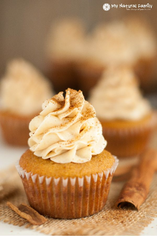 Snickerdoodle Cupcakes Recipe (Paleo, Gluten Free, Dairy Free, Clean Eating)