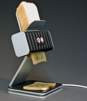Probably everyone, who likes a toast for breakfast, has at some point burned a toast. This transparent modern toaster will solve this problem, letting you see what's going on inside. Since getting the right toaster setting is not an easy task, with this modern toaster you will be able to get your toast exactly when you want it. www.floatproject.org