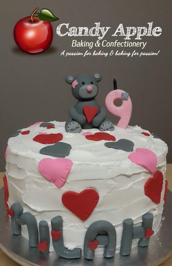 Tatty Teddy cake https://m.facebook.com/candyapplecreations