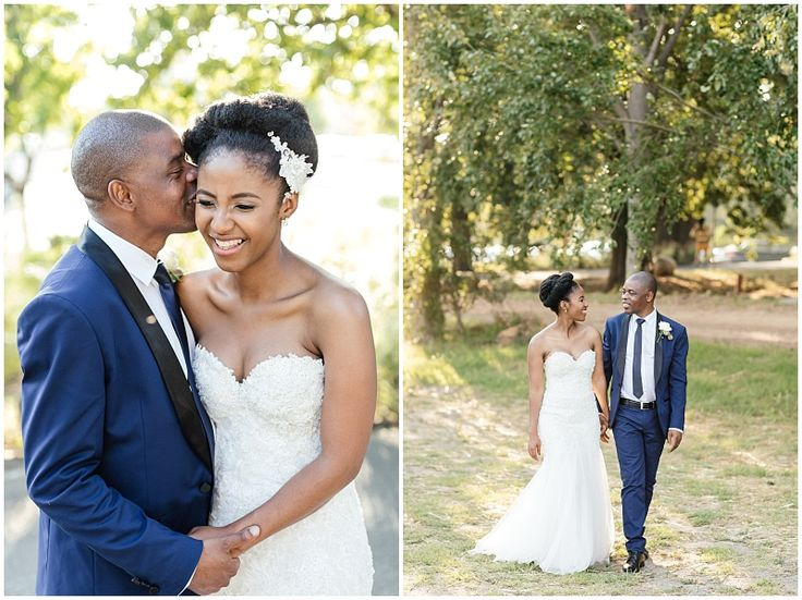 Classic navy and black tuxedo. Groom wedding style. Blue and black tuxedo combination. Image by Wesley Vorster