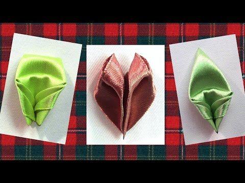 How to make flowers Petals, Kanzashi Petals Tutorial, Kanzashi Tatiana Vasyliuk / Лепестки Канзаши - YouTube