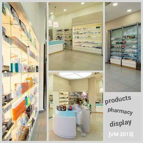 [VM 2015] Products pharmacy display by Aliki Saroglou
