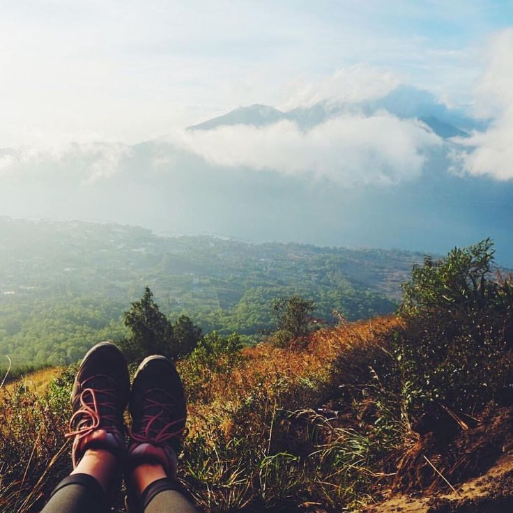 """Hiking Mount Batur in Bali, Indonesia - Sarah   Ranga Adventures 🌻 (@rangaadventures) on Instagram: """"'Because in the end, you won't remember the time that you spent working in the office or mowing…"""""""