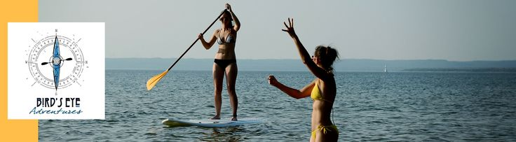 GET IN HERE TO GET OUT THERE!!! Bird's Eye Adventuresmain goal is to help you experiencethe great outdoors be it through education, tours, or product demo days. Their objective is to get you properly geared up and outside. Bird's Eye Adventures offers stand-up paddleboard workshops, lessons, and tours on the St. Marys River. Guided tours …