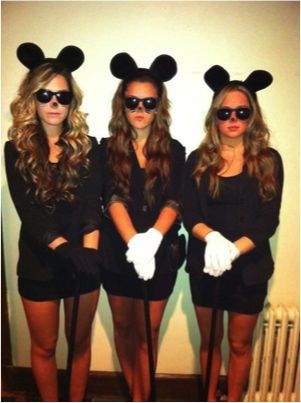 Not all of us are Pinterest Queens - so here's the cheap and easy Halloween costumes.