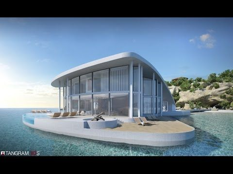 Luxury floating house has a sting in its tail