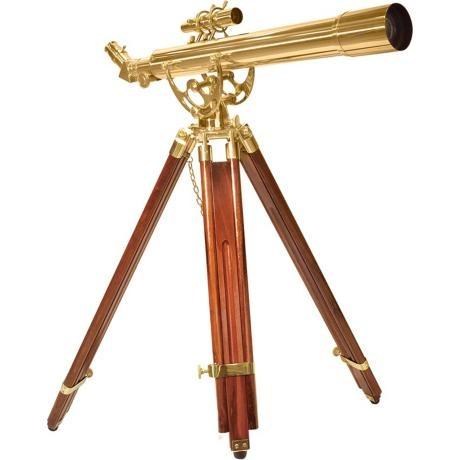 Barska 20-60x60 Anchormaster Spyscope Telescope with Mahogany Floor Tripod | Mahogany