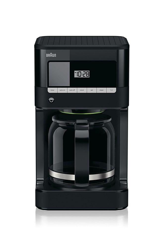 Braun Brew Sense Drip Coffee Maker Black Machine Automatic Kitchen Multi Cup NEW #Braun