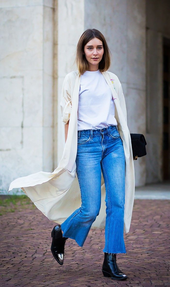 Not sure what to wear with high-waisted jeans? Check out 13 stylish outfit ideas to inspire you here.