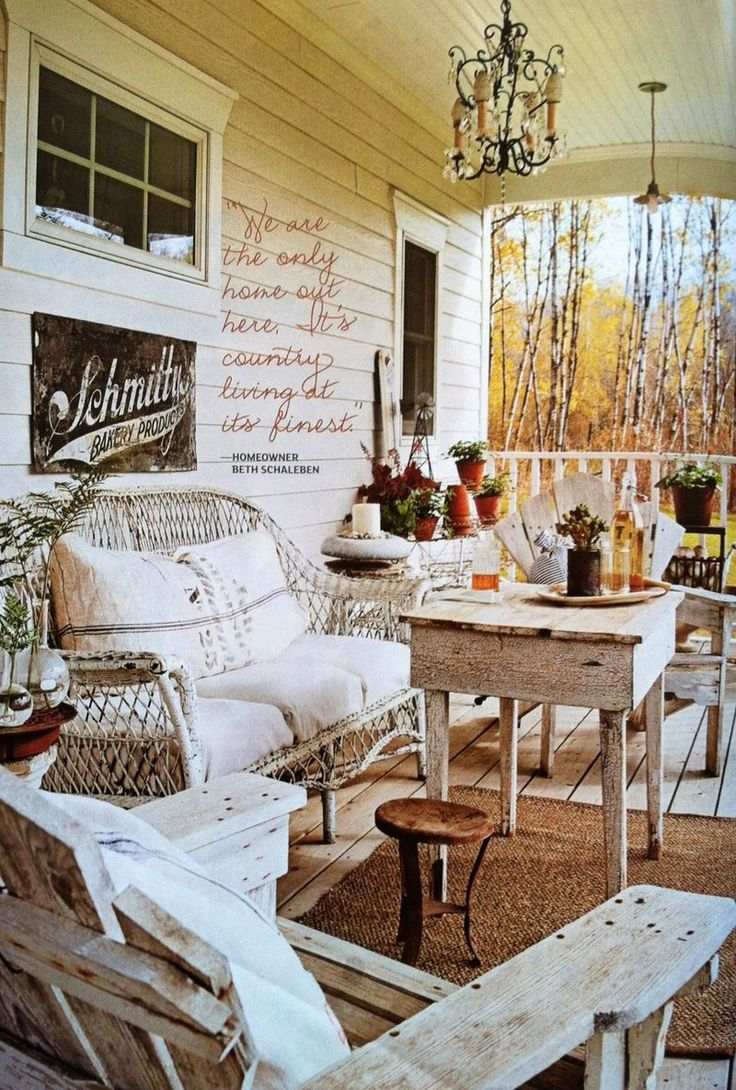 605 best Primitive and Country Porches images on Pinterest ...