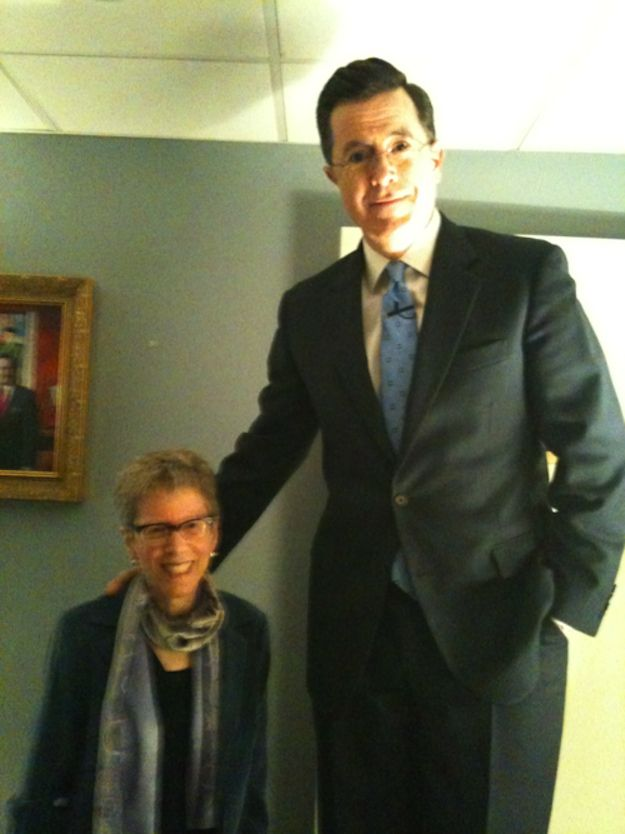 Stephen Colbert+Terry Gross=Love                                                                                                                                                     More