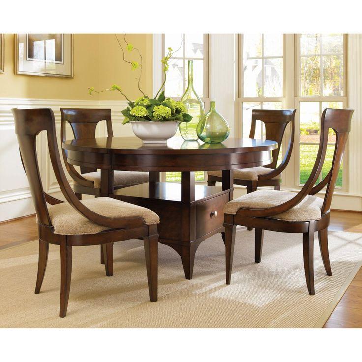 Hooker Furniture Abbott Place 5 Piece Round Adjustable ...
