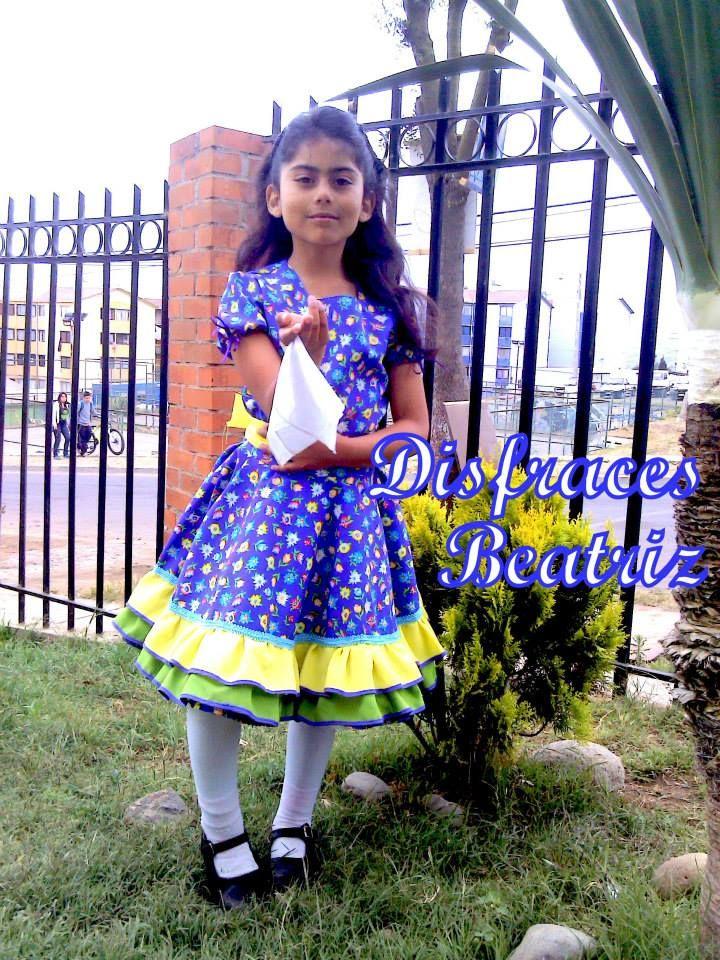 Vestido cueca (CHILE)