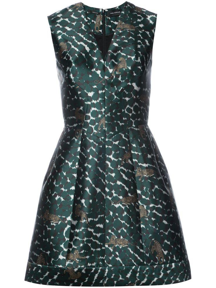 Yigal Azrouel Расклешенное Платье с Леопардовым Принтом 57419.92 - Купить в Интернет Магазине в Москве | Цены, Фото.