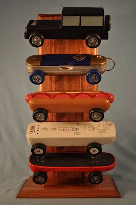 Pinewood Derby Car Displays