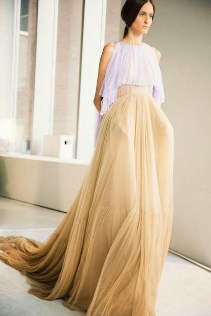 Faldas de Tul largas de moda