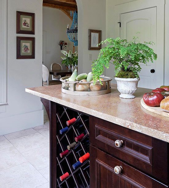 Show Off Your Wine Storage