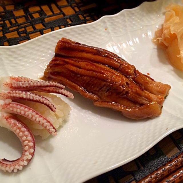 烏賊下足・煮穴子 - 14件のもぐもぐ - にぎり寿司 by sumiko524