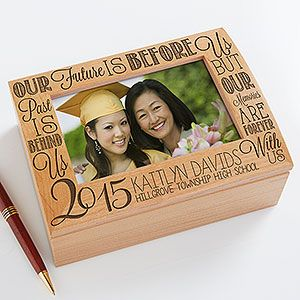 Make the graduation memories live forever with the Graduation Memories Personalized Photo Keepsake Box. Find the best personalized graduation gifts at PersonalizationMall.com