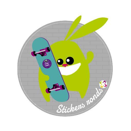 """Pour marquer et identifier les chaussures de vos enfants, ainsi que tous les objets volumineux, optez pour les stickers plus """"ronds"""" ! http://www.signoo.com/fr/14/stickers-plus-ronds-autocollants-chaussures.html"""