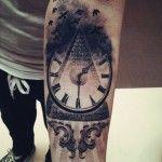 Time Flies Tattoo | Best tattoo ideas & designs