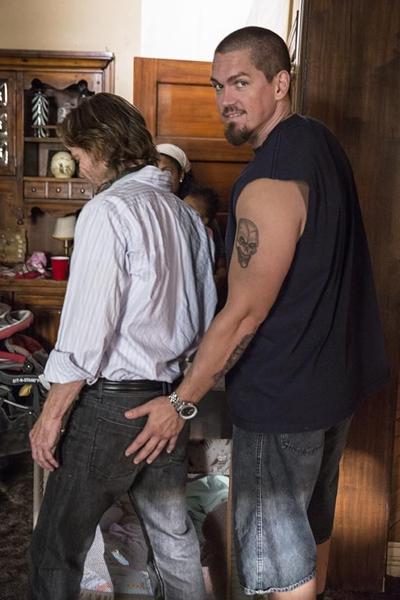 William H. Macy - A parting shot with Steve Howey as we say farewell to Season 5 - Shameless
