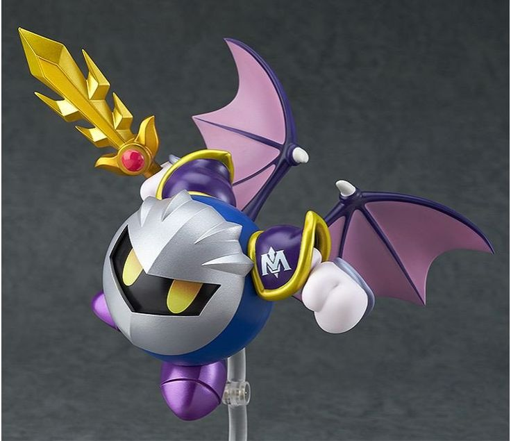 Pre-Order Release Date: April 2017 Kirby's rival is joining the Nendoroids! From the popular 'Kirby' game series comes a Nendoroid of Meta Knight! Just like the previously released Nendoroid Kirby, Me