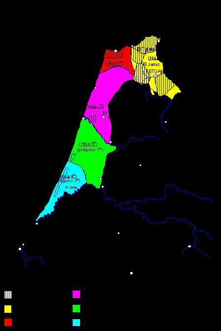 El mapa del norte de Marruecos a escala 1:500.000 y la Conferencia de Algeciras de 1906