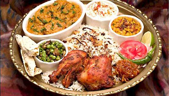Dinner menu should be a colorful presentation of appetizers main course and desert indian food - Different indian cuisines ...
