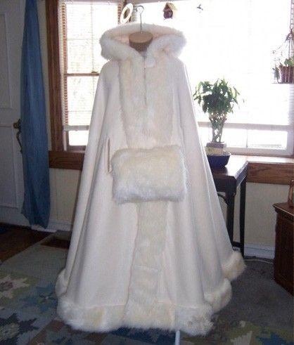 Long Fur Shawl Bridal Winter Fur Bolero jacket Fox fur Wedding Cape Cloak Faux Fur Shawl Coat S to 6XL