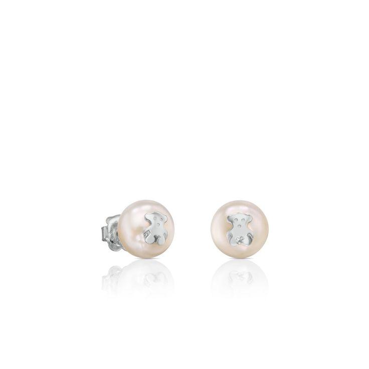 kolczyki tous pearls 411143500