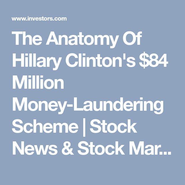 The Anatomy Of Hillary Clinton's $84 Million Money-Laundering Scheme | Stock News & Stock Market Analysis - IBD