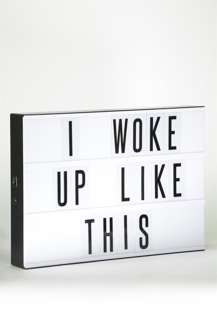 Bigger is totally better! Especially in this case with our A3 sized light box.<br />  Spell out your own personalized messages, favorite sayings, songs, quotes… go on, get creative!<br />  <br />  FEATURES & BENEFITS<br /> • Can also run on a 5V DC 500mA adapter<br /> •Perfect party prop<br /> •Includes 69 Letters, Numbers & Symbols<br /> •Various styles available<br /><br />  Size: A3. ...