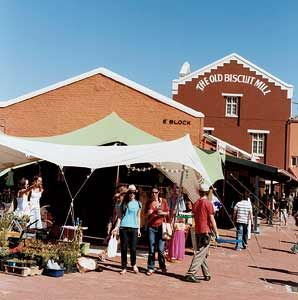 Neighbour Goods Market at the Old Biscuit Mill (Woodstock) | Sat. 09h00-14h00 | more info: http://showme.co.za/cape-town/events-entertainment/neighbour-goods-market-at-the-old-biscuit-mill/ | Popular destination for creatives on a Saturday morning. The Old Biscuit Mill sells amazing artisan food and beverages as well as vintage and recycled items.