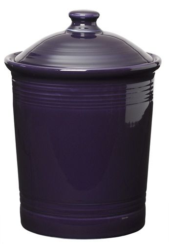 Plum Fiesta Kitchen Canister, Large