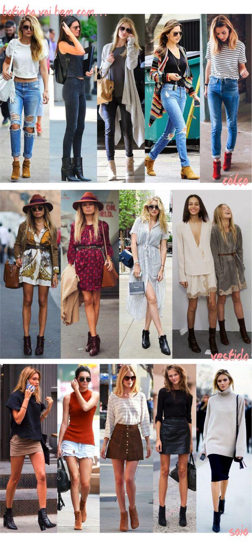 15 ideias pra colocar a botinha em prática - Fashionismo