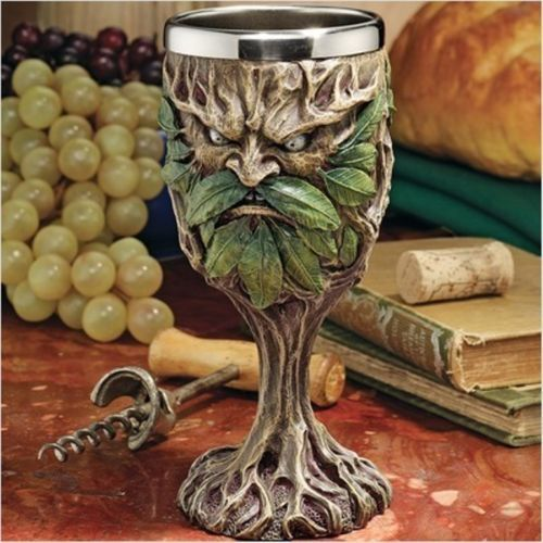 Grendal The Green Wine Goblets Home Medieval Gothic Drink Ware Products | eBay
