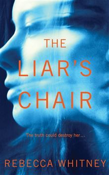 The Final Cover! http://www.panmacmillan.com/book/rebeccawhitney/theliarschair  I love the two (liar's) faces of the woman, and the ambiguity over her identity. The colours are beautiful, the blue hinting at a woman submerged, and the orange type, bold against this backdrop.